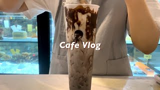ENG) cafe vlog | 메뉴판에는 없는 히든 메…