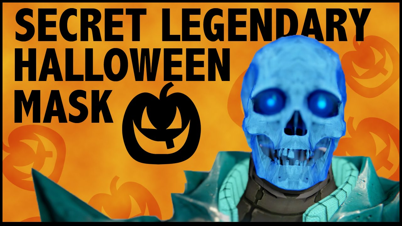 Destiny - Secret Halloween Mask! - Skull Mask - YouTube