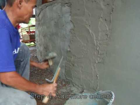 Cement Plastering Youtube