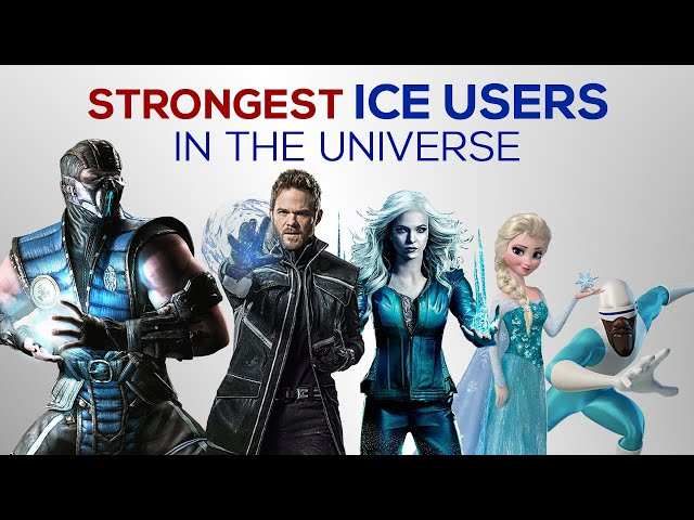 Strongest ICE USERS in the Universe