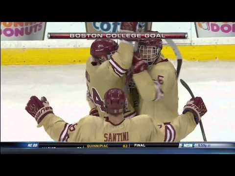 Boston College vs. Northeastern - 2014 Beanpot Championship Highlights