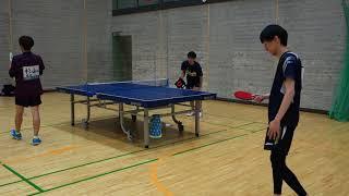 卓球しかやってない人 第45回長泉町卓球大会4回戦センスで卓球 thumbnail