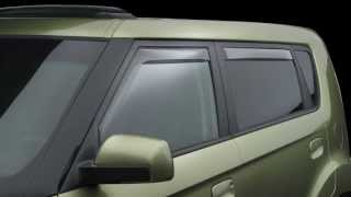 WeatherTech Side Window Deflectors: Product Information