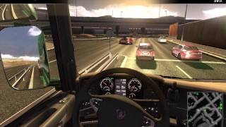 Scania truck driving simulator 2015 Gameplay