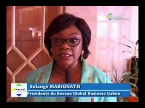 RTG - Solange Mabignath  nommée presidente du bureau global business Gabon