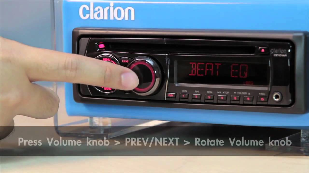 hight resolution of clarion cz101 3 audio setup mov youtubeclarion cz 101 wiring diagram 6