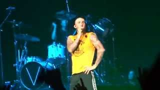 "Maroon 5 ""Moves Like Jagger"" 2.9.15 Yokohama Arena, Tokyo, World Tour in Japan"