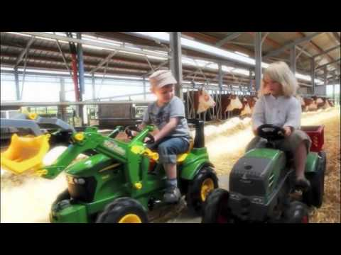 Rolly Toys Педальный трактор для мальчиков и девочек- Детки Тойс интернет магазин игрушек
