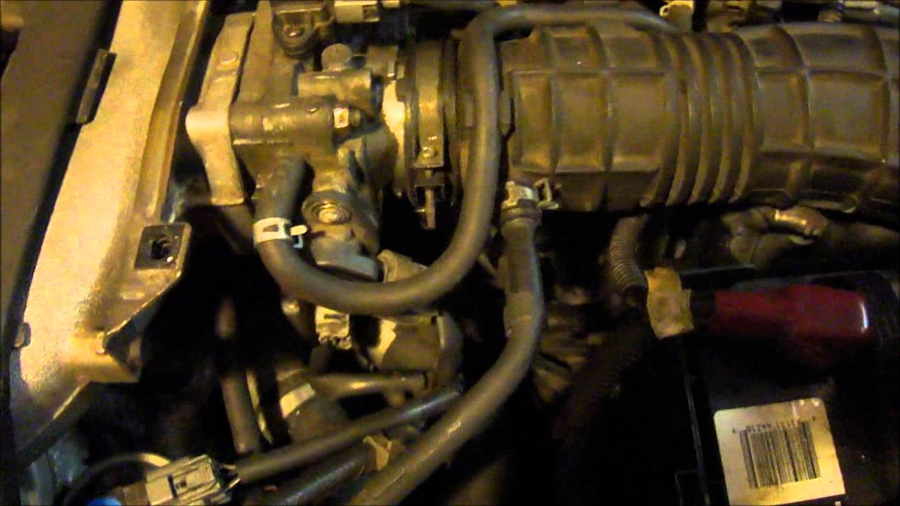 How to clean Butterfly valve (idling Isuue),Honda Accord ...