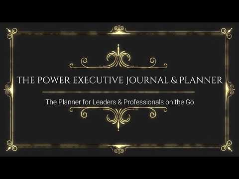 The Power Executive Journal & Planner