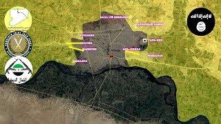 16-17 июня 2017. Военная обстановка в Сирии. Информация об уничтожении Аль-Багдади - главаря ИГИЛ.