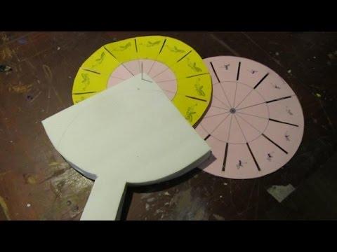 Make a Phenakistoscope