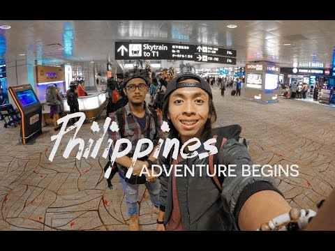 WHAT'S IN MY BACKPACK FOR PHILIPPINES (Day1) | BackpackerTampan