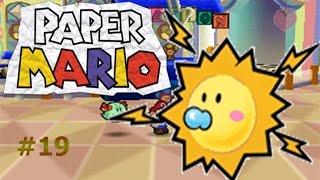 El monstruo de la oscuridad y una brillante compañera/Paper Mario capítulo19