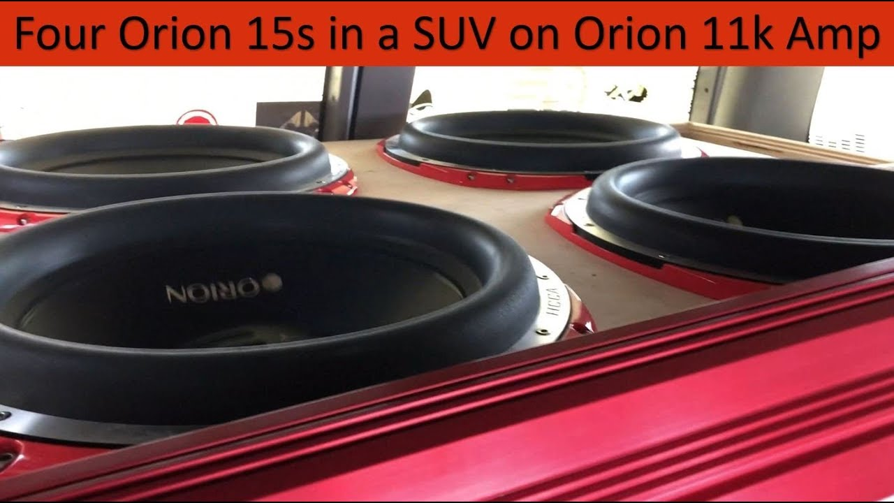 [SCHEMATICS_4FR]  4 Orion HCCA 15s on Orion HCCA 11K Amp   Spring Break Nationals 2018 -  YouTube   Orion Hcca 15 Wiring Diagram      YouTube
