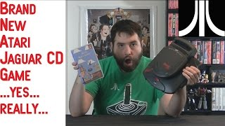 UnBoxing - Alice's Mom's Rescue - NEW Atari Jaguar CD Game - Adam Koralik