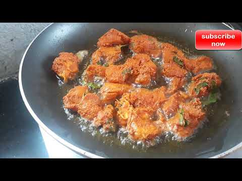 How to cook tummy !!! Yummy !!! crispy  fried chicken !!!