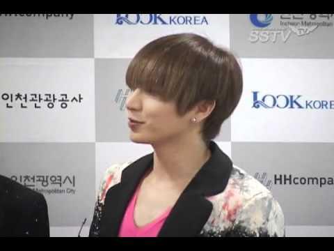 110813  SSTV Incheon Korean  Wave Red carpet-Super Junior