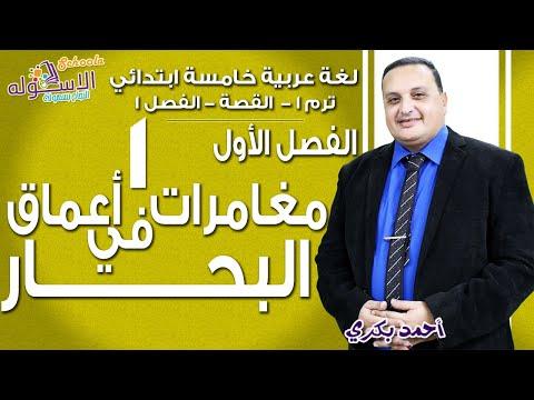 لغة عربية خامسة ابتدائي-تيرم1-أ/ احمد بكري