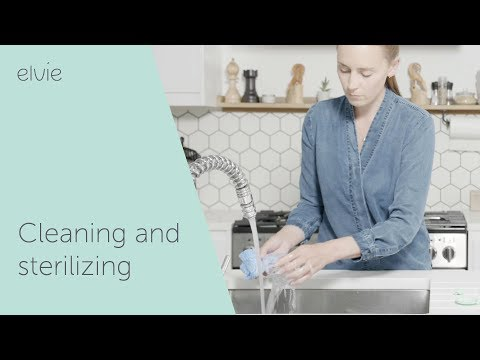 Cleaning Sterilizing - Elvie Pump