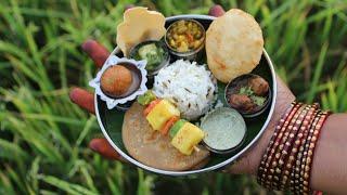 Miniature Punjabi Thali | Punjabi Thali Recipe | Miniature Cooking #13 | mini foodkey