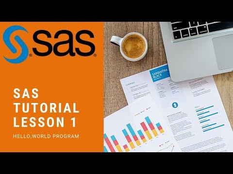 SAS Programming Step By Step Tutorial 1 - randerson112358