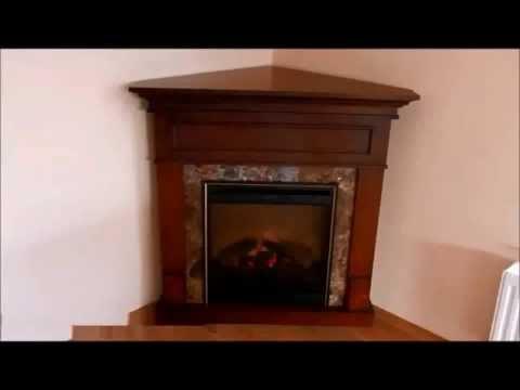 Видео обзор Электрический камин Dimplex Verona Corner
