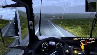 Euro Truck Simulator 2 - Karlstadt (S) - Hirtshals (DK)