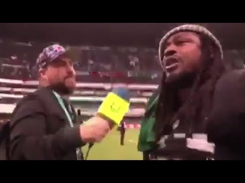 "Marshawn Lynch Gives Mexican Reporter the Greatest Interview of All Time: ""I F*ck with the Mex!"""