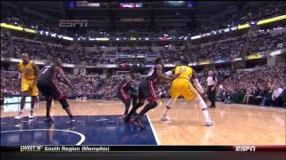 March 26, 2014 - ESPN - Game 70 Miami Heat @ Indiana Pacers - Loss (48-22)(Heat Highlights)
