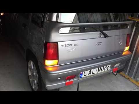 Daewoo Tico Coldstart -5*C odpalanie po 2,5 miesiącach postoju