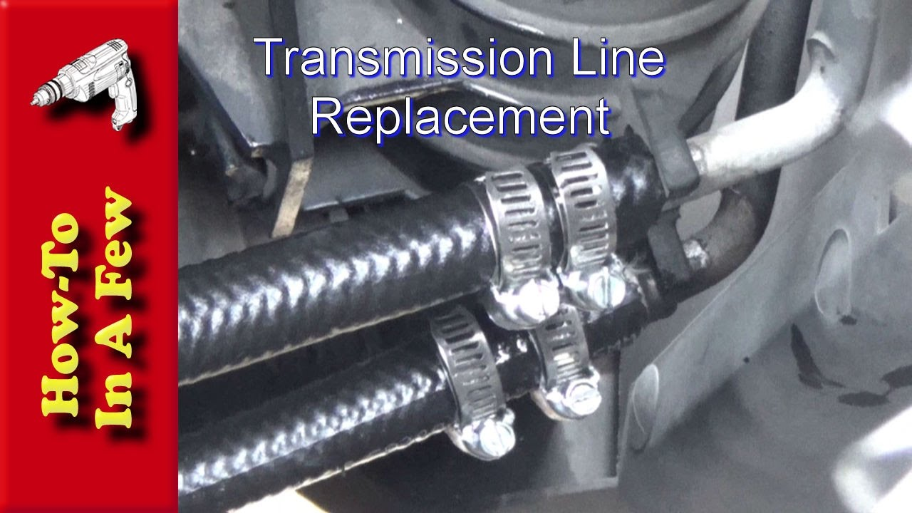 how to: repair leaky transmission lines on a dodge ram 2500