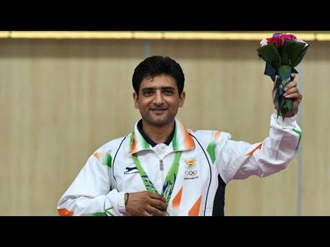 Shooter Chain Singh seeks support & blessings for medal in World cup rifle