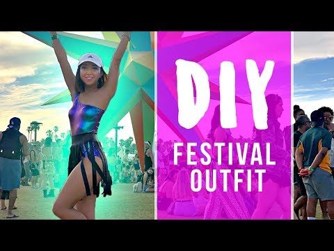 DIY Festival Outfit   Coachella 2018