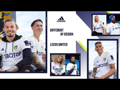 Different By Design | New adidas Leeds United home jersey