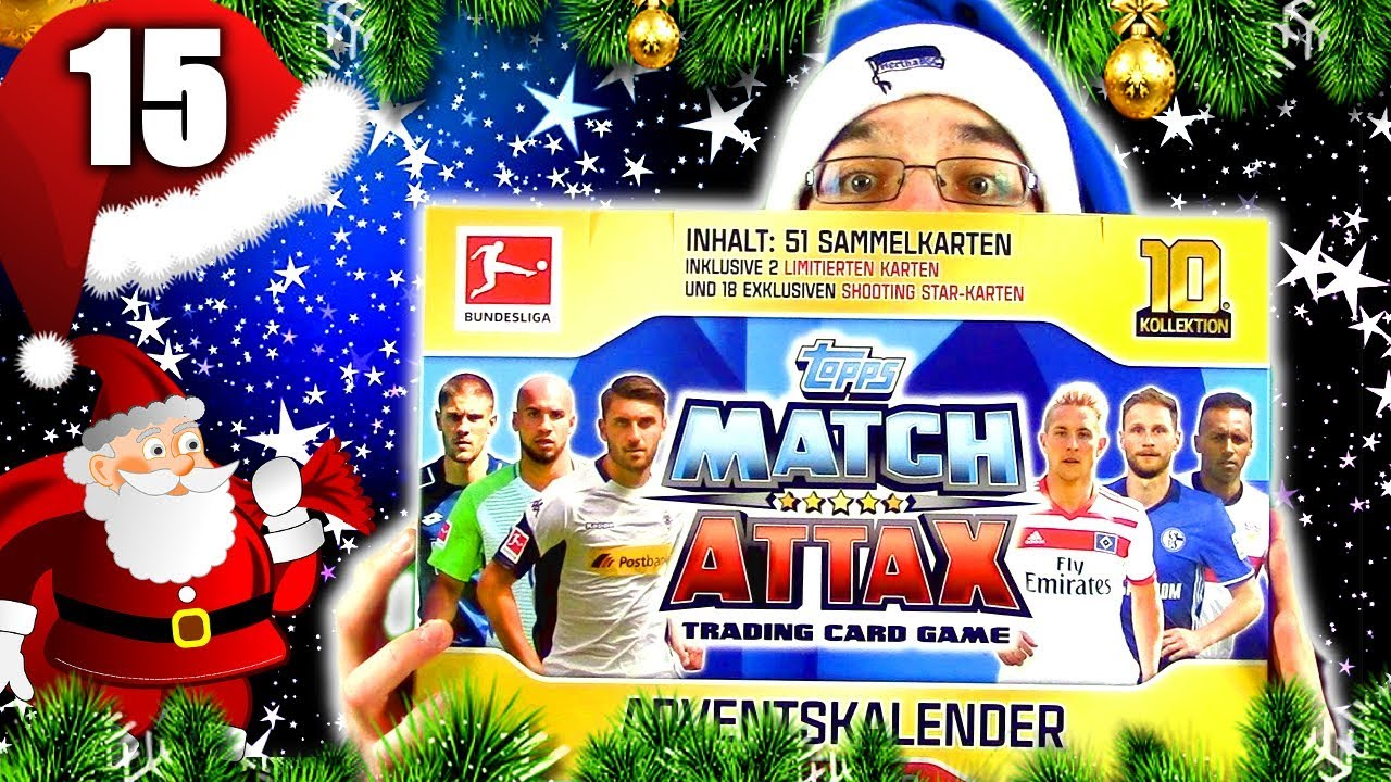 Match Attax Adventskalender