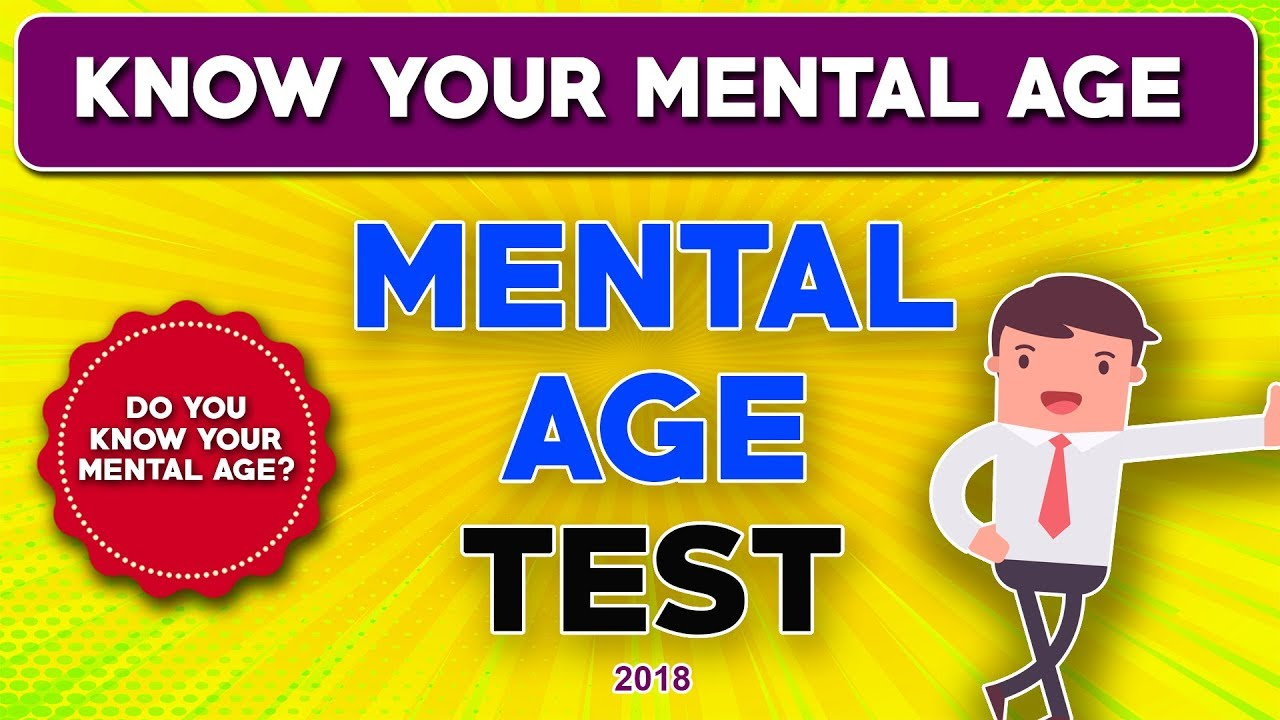 whats your mental age quiz
