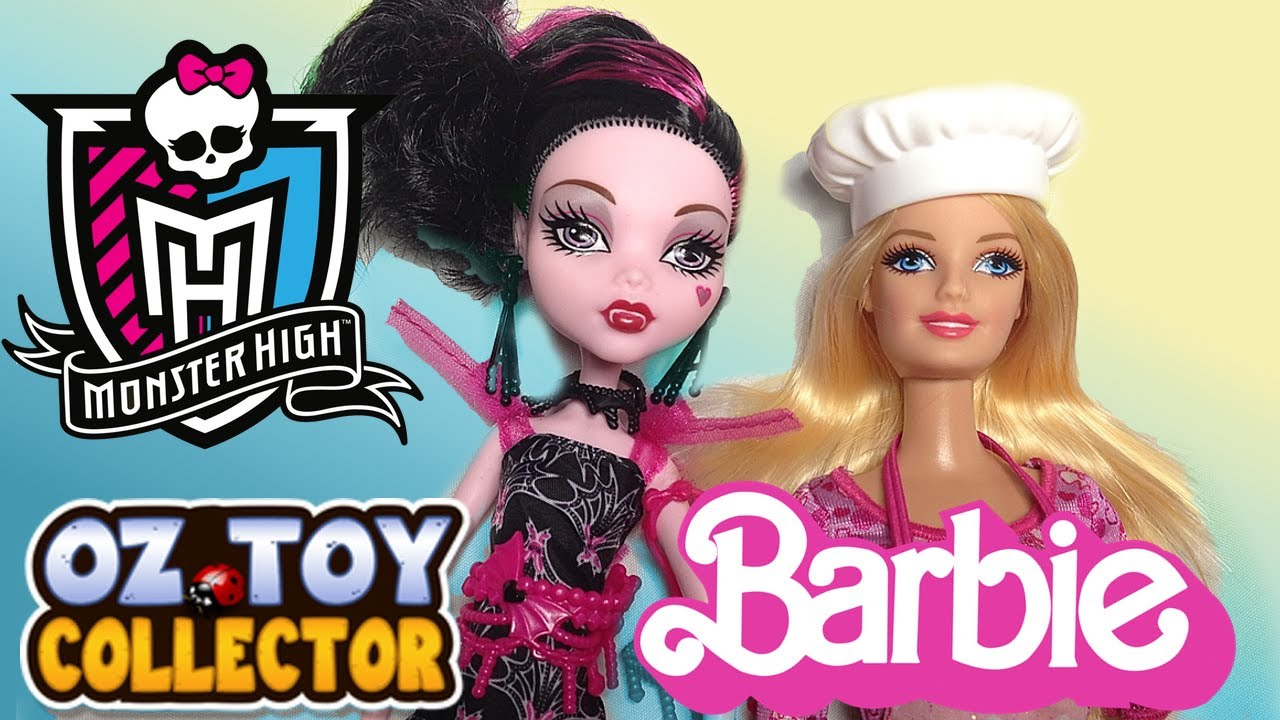 Monster High Doll Draculaura Barbie Life In The Dreamhouse