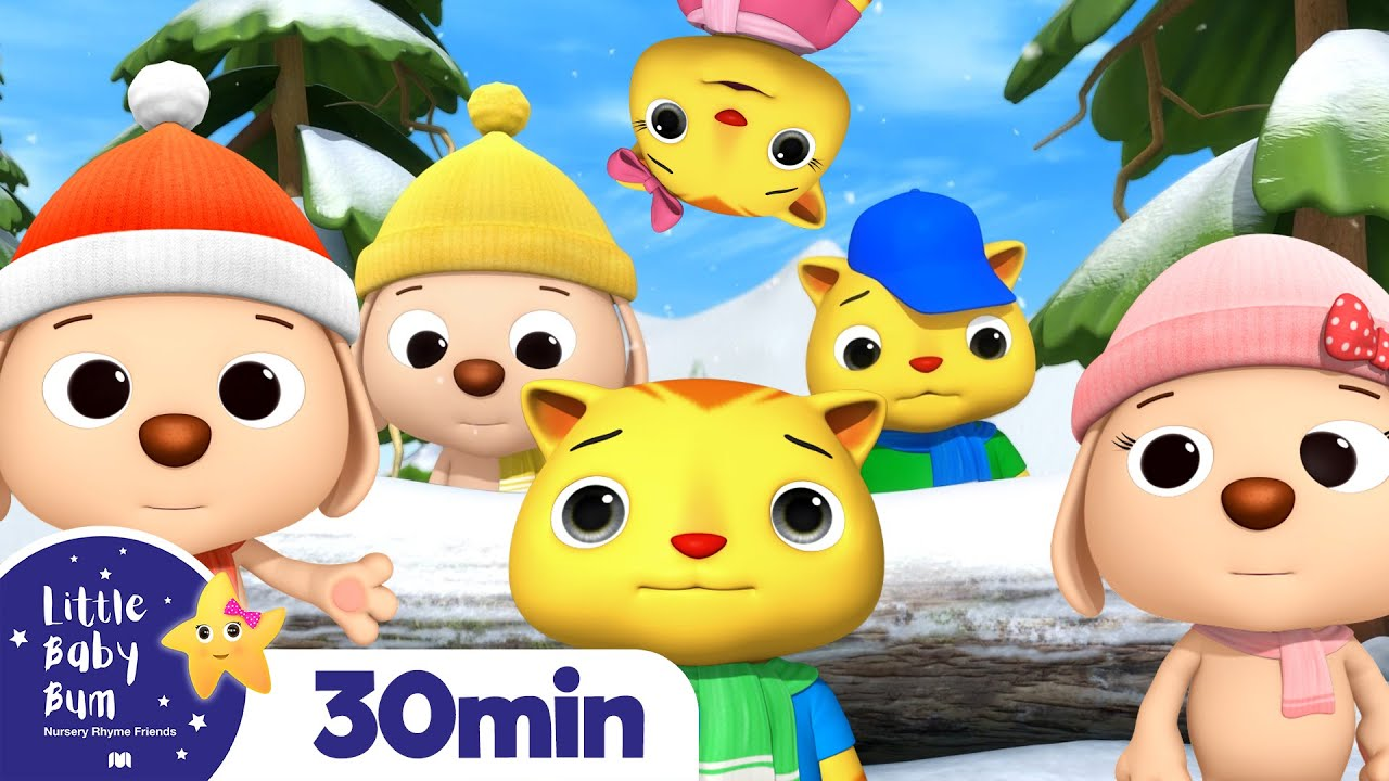 3 Little Kittens and Puppies   Kids Songs & Nursery Rhymes   ABC & 123   Little Baby Bum