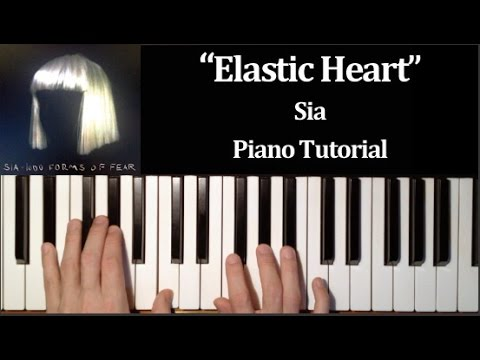 Sia - Elastic Heart (How To Play Piano Tutorial)