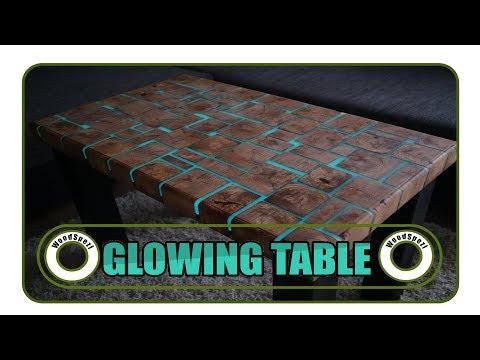 Glowing Table - Leuchtender Tisch DIY