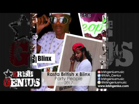 Rasta British Ft. Blinx - Party People -...
