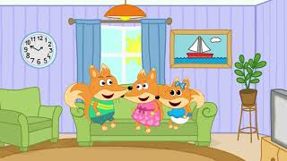 Fox Family and Friends cartoon for kids #724