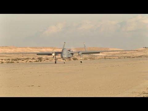 "news - פיתוח תעשייה אווירית מל""ט הרון שליטה לווין מרחוק נחיתה ב שטח אויב"