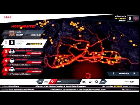 NFS Most Wanted - All Billboards/Speed Cameras/Jack Spots