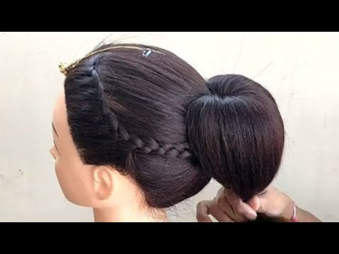 diy---hairstyle-for-wedding-party-||-wedding-party-hairstyle-for-medium-hair