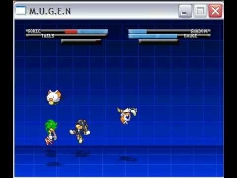 Sonic U0026 Tails Vs  Shadow U0026 Rouge