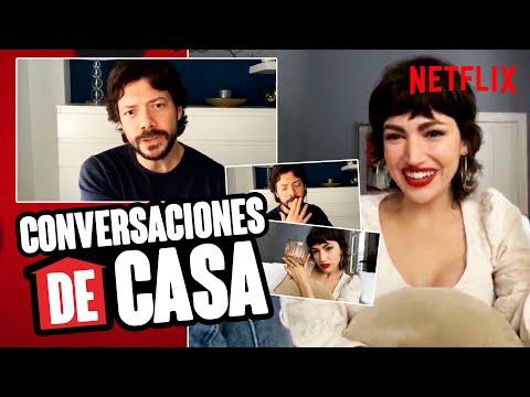 CONVERSACIONES DE CASA Con ÚRSULA CORBERÓ Y ÁLVARO MORTE | Netflix España