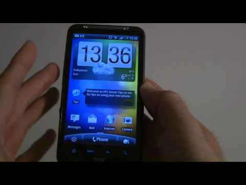 HTC Desire HD Unboxing Product Tour & Initial Set-up