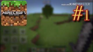 Minecraft PE Episode 1 A brand new Survival